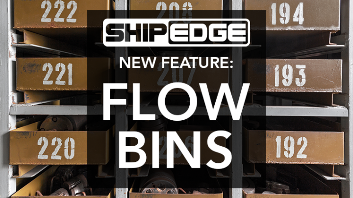 What are flow bins?