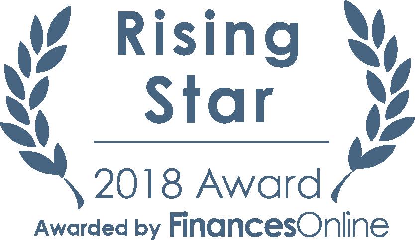 Finances Online Award Shipedge Rising Star