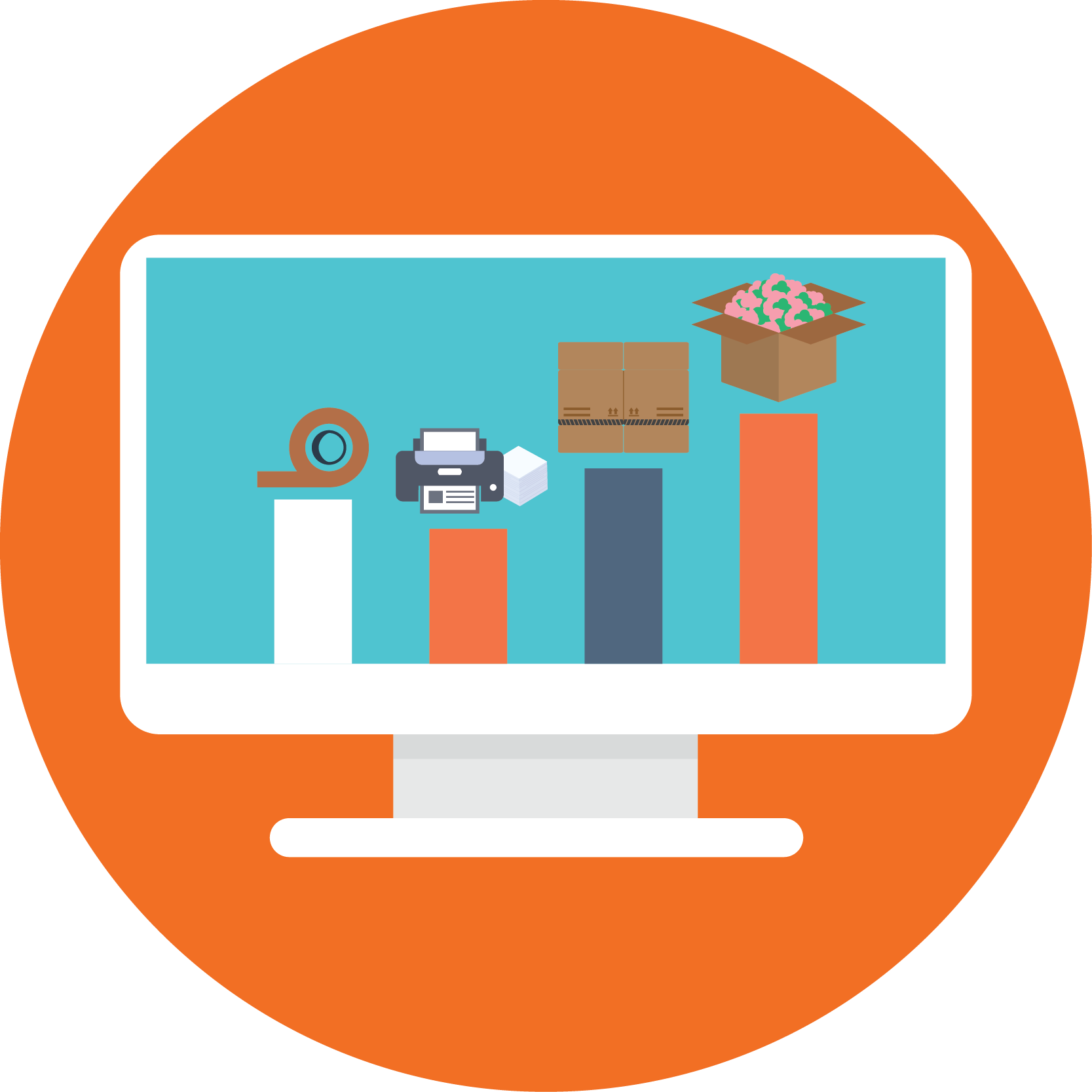 Materials Tracking eCommerce Best Rate Shipping