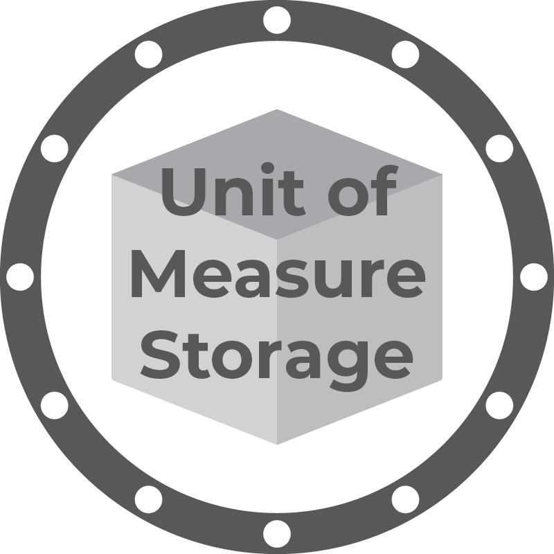 Unit of Measure Storage Module