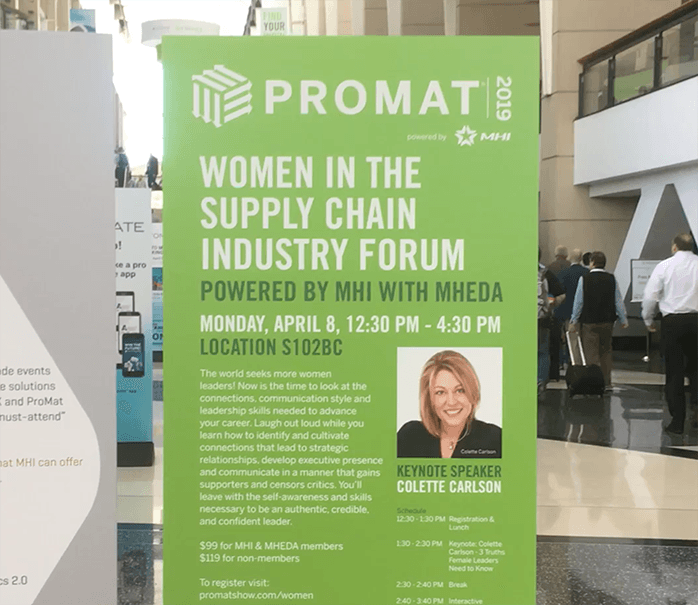 Promat 2019 Women in Supply Chain