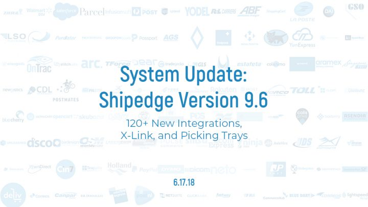 Shipedge 9.6 Integrations